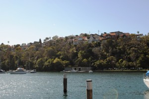 Lower Boyle St Conservation Area (from Mosman Bay)